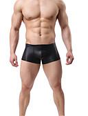 זול תחתוני גברים אקזוטיים-בגדי ריקוד גברים בסיסי בוקסר פולי מותן נמוך