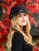 זול אביזרים-צמר / פּוֹלִיאֶסטֶר כובעים עם מפרק מפוצל 1pc קזו'אל / לבוש יומיומי כיסוי ראש