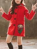 זול סטים של ביגוד לבנות-ז'קט ומעיל פרחוני בנות ילדים