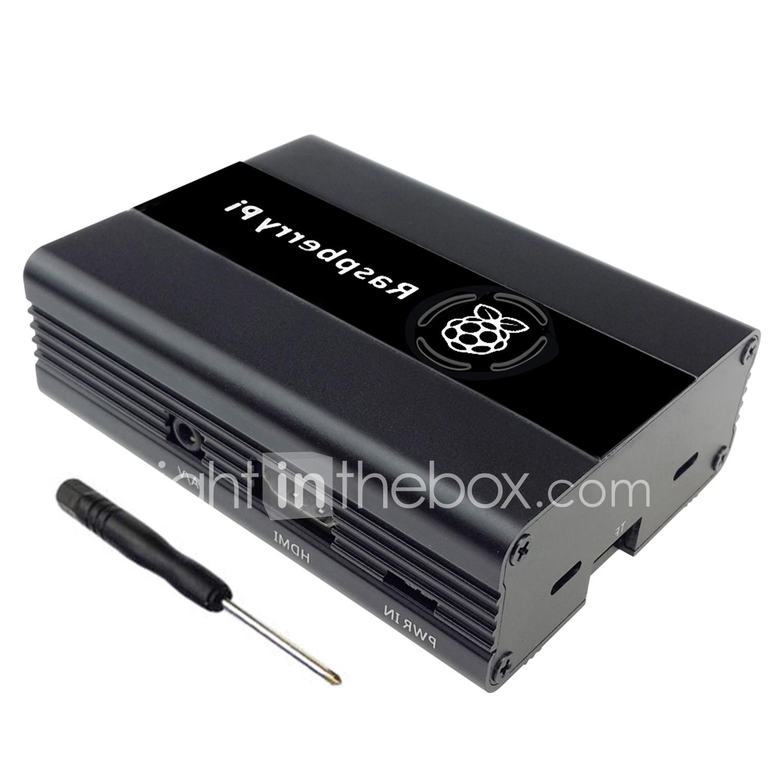Raspberry Pi 3 Aluminum Alloy Metal Case 6364275 2019 – $11 39