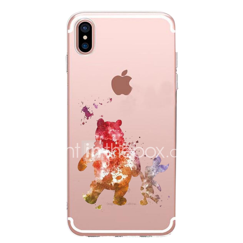 coque transparente iphone xr motif