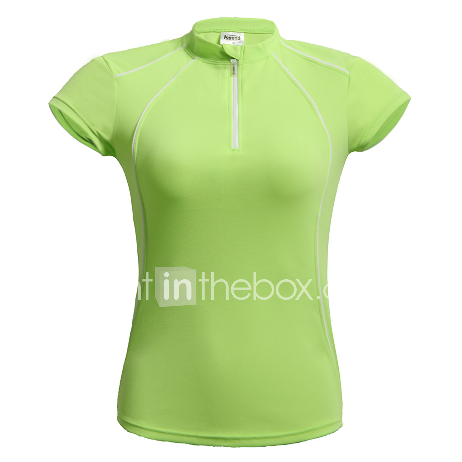 Jaggad Women s Short Sleeve Cycling Jersey - Blue Pink Light Green Solid  Color Bike Jersey Top cf2c243ea