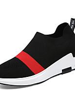 economico Sneakers da donna-Per donna Tissage Volant Autunno inverno  Sneakers Piatto Punta tonda Bianco 595e445a374