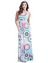 Χαμηλού Κόστους Γυναικεία Φορέματα-Γυναικεία Μπόχο   Εκλεπτυσμένο Μανίκι  Πεταλούδα Γραμμή Α   Θήκη Φόρεμα 0ddaf0b8b39