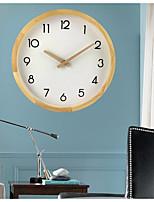 2277b4037 رخيصةأون ساعات الحائط-ساعة الحائط,الحديث المعاصر اعمله بنفسك خشبي زجاج  دائري في الأماكن