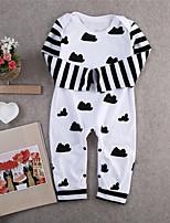 b3fdbb1490f Χαμηλού Κόστους Μωρουδιακά Ρούχα Για Αγόρια-Μωρό Αγορίστικα Ενεργό / Βασικό  Ριγέ / Γεωμετρικό /
