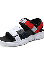 5f6c4c77e رخيصةأون أحذية الأولاد-للصبيان أحذية نسيج مرن الصيف مريح صنادل مفرغ إلى  أطفال أسود /