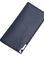 9cd4b26730 Χαμηλού Κόστους Πορτοφόλια-Ανδρικά Τσάντες PU Πορτοφόλια Συμπαγές Χρώμα  Μαύρο   Μπεζ   Καφέ