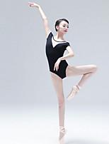 economico -Danza classica Body Per donna Addestramento Cotone Più materiali Senza maniche Calzamaglia / Pigiama intero