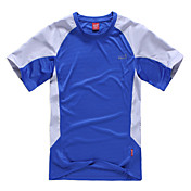 男性用 ハイキング Tシャツ アウトドア 速乾性 透湿性 Tシャツ トップス キャンピング&ハイキング 登山 レジャースポーツ