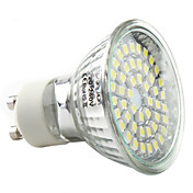 3w gu10 led spotlight mr16 48 smd 3528 250-300lm blanco natural 6000k ca 220-240v