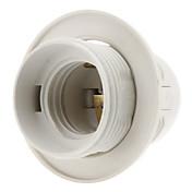 e27 base bombilla tornillo rosca portalámparas (blanco) de alta calidad