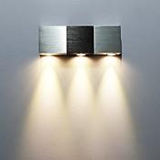 AC 85-265 3 LED Integrado Moderno/Contemporáneo Galvanizado Característica for LED Mini Estilo Bombilla Incluida,Luz Ambiente Luz de pared