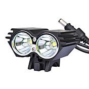 自転車用ライト 自転車用ヘッドライト LED サイクリング 18650 ルーメン AC充電器 サイクリング
