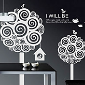 Botanical I Will Be There pegatinas de pared