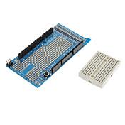 (Arduinoのための)メガミニブレッドボードでのプロトタイプシールド v3の拡張ボード