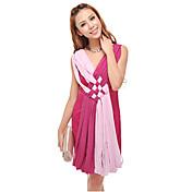 GIMFI女性のファッションスペルの色のドレス