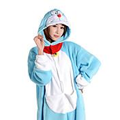 Kigurumi Pijamas Animé Disfraz Vellón de Coral Kigurumi Leotardo / Pijama Mono Cosplay Festival / Celebración Ropa de Noche de los
