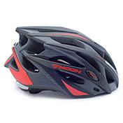 男女兼用 - サイクリング / マウンテンサイクリング / ロードバイク / レクリエーションサイクリング - 半殻 - ヘルメット (レッド / ブラック , PC / EPS)サイクリング / マウンテンサイクリング / ロードバイク /
