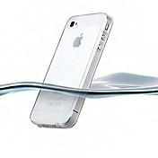 iPhone 4/4S(アソートカラー)用の超薄型透明なシリコーンバックケース