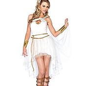 に触発さ コスプレ Athena ビデオ ゲーム コスプレ衣装 コスプレスーツ レース ノースリーブ
