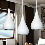 KAKAXI Lámparas Colgantes Luz Downlight - LED, 90-240V, Blanco Cálido / Blanco, Bombilla incluida / 10-15㎡