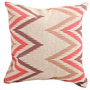 Algodón/Lino Cobertor de Cojín / Cojín con Relleno , Geométrica Moderno/Contemporáneo