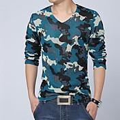 Hombres Casual manga larga T-shirt