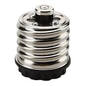 10pcs e40 a e27 5a 220-240v socket adaptador de bulbo de alta calidad