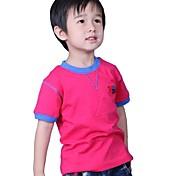 Camiseta Algodón Verano Blanco Amarillo Azul Azul Claro Sandía