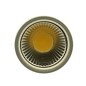 gu10 ledスポットライト1コブ400-450lm暖かい白コールドホワイトナチュラルホワイト2800-3000k / 4000-4500k / 6000-6500k ac 85-265v