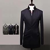 NT&最大のメンズファッションは、長いスーツのジャケットを養う