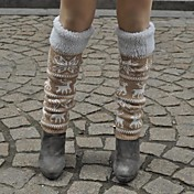 Esquí Calentadores de la pierna/Polainas Calcetines Mujer Templado Mantiene abrigado Resistente al Viento Transpirabilidad Tabla de