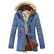 abrigo cálido algodón de los hombres