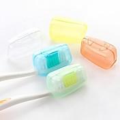 食品グレード素材 旅行用歯ブラシ入れ 防水 携帯用 抗菌 洗面道具 ミニサイズ