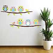 pegatinas de pared Tatuajes de pared, varios juegos pájaro con pvc árbol pegatinas de pared.