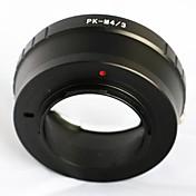 ペンタックスPK kはオリンパスパナソニック、マイクロ4/3 M43アダプタ電子P5 gf6 GH3用のレンズマウント