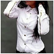aigowomenの欧州の韓国のファッション長袖底シャツ