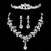 Mujer Otros Conjunto de joyas Pendientes / Collare / Tiaras - Regular Para Boda / Fiesta / Ocasión especial