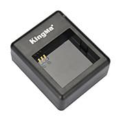 小米科技xiaoyiとaz13-1電池のkingmaのbm030デュアルスロットバッテリ充電器--black