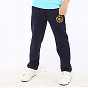 Pantalones Boy-Verano-Algodón / Acrílico / Espándex / Mezcla de Algodón-Estampado