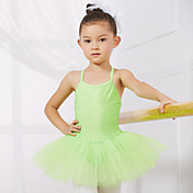 Ballet Leotardos Entrenamiento / Rendimiento Licra / Tul Sin Mangas Princesa Vestido