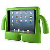 のために 防水 / スタンド付き / チャイルドセーフ ケース バックカバー ケース ソリッドカラー ハード EVA Apple iPad Mini 3/2/1