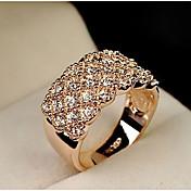 Mujer Legierung Anillo de declaración - Moda Plata / Dorado anillo Para Boda / Fiesta / Diario