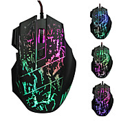 2015 nový přírůstek 5500 dpi tlačítko 7 vedl Optická USB kabelové myši Gamer myši počítačovou myš herní myš pro profesionální hráče