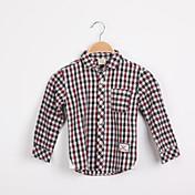 Camisa Boy-Verano / Primavera-Poliéster