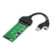 """e431 E531 X240 y410p Y510のためngff PCI-E 2車線SSDをM.2する2.5 """"ハードディスクをSATAへのUSB 3.0"""