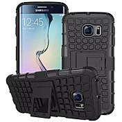 Para Funda Samsung Galaxy Cartera / Antigolpes / con Soporte / Flip Funda Cubierta Trasera Funda Armadura Policarbonato para SamsungS7