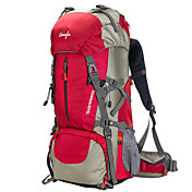 50 L バックパッキング用バックパック 登山 キャンピング&ハイキング 防水 防雨 耐久性 多機能の ナイロン メッシュ OSEAGLE