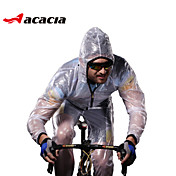 Chaqueta de Ciclismo Unisex Manga Larga Bicicleta Impermeable Sets de Prendas Impermeable Secado rápido Resistente al Viento Resistente a